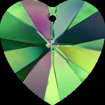 Swarovski Pendants Heart - 10mm Vitrail Medium