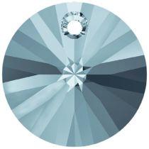 Swarovski Xillion Pendant 6428-12mm- Aquamarine