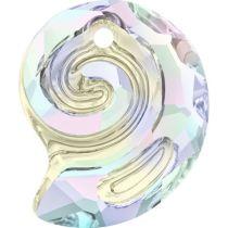 Swarovski  Sea Snail  6731- 14 mm- Crystal AB