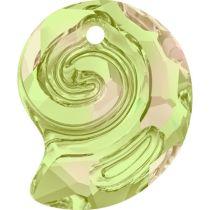 Swarovski  Sea Snail  6731- 14 mm- Luminous Green