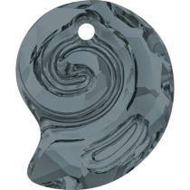 Swarovski  Sea Snail  6731- 14 mm- Silver Night