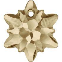 Swarovski  Pendants -6748-Edelweiss 28mm- Crystal Golden Shadow