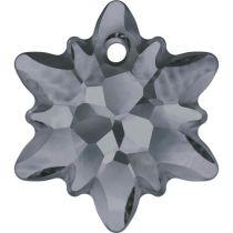 Swarovski  Pendants -6748-Edelweiss 28mm-Crystal Silvernight