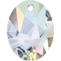 Swarovski Kaputt Oval Pendant-6911-36mm-Crystal AB
