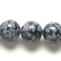 Obsidian snowflake R-8mm,App.16