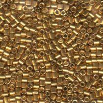 Miyuki Delica Bead Size-8 Galvanized Yellow Gold DBL0410-50