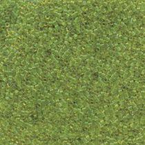 Miyuki Delica Bead Size -11- Trans. Olive-DB1107
