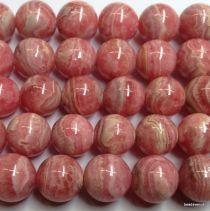 Rhodocrosite Round -8mm Beads- 16