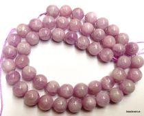 Kunzite Round -10mm Beads- 16