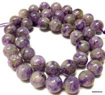 Charoite Round - 10mm Beads - 16