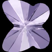Swarovski  5754Butterfly Beads- 6mm-Violet