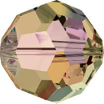 Swarovski Crystal Round (5000) Bead-10mm -Lt.Col.Topaz