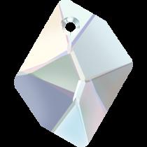 Swarovski Cosmic (6680) Pendant -14mm -Crystal AB