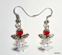 Christmas Earring Swarovski Crystal Kit-Crystal AB3 & Lt. Siam