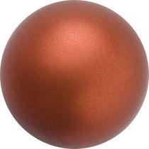 Preciosa® Round Pearl Dark Copper