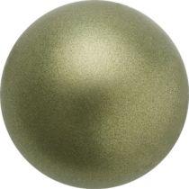 Preciosa® Round Pearl Dark Green