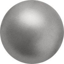 Preciosa® Round Pearl Dark Grey
