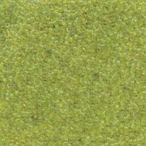 Miyuki Delica Bead Size -11- Trans. Lime-DB1106