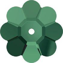 Swarovski Margarita Flower(3700)  Beads -12 mm-Emerald