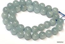 Aquamarine Beads Round -8mm-40cms.Strand