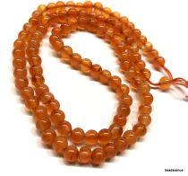 Carnelian Round Beads 4-5mm - 40 cms Strand