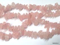 Rose quartz 5-8 mm Chips App. 36