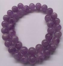 Lavender Amethyst Round -10mm-16