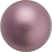 Preciosa® Round Pearl Light Burgundy