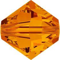 Swarovski  Bicone 5328-4mm- Crystal Tangerine