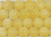 Yellow Jade Round- 6mm- 16