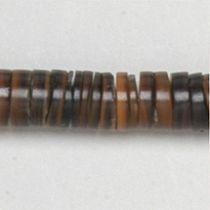 Brown pen heishe 7-8mm App.24