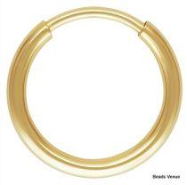 Gold Filled (14k) Endless Hoop 10mm