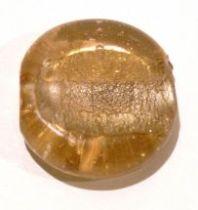Foil Beads Disc 25mm-Peach
