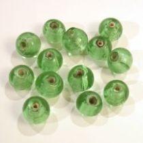 Foil Beads R-8mm-Lt. Green