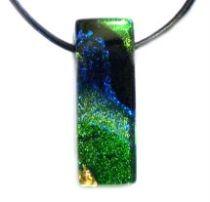DICHORIC GLASS - Pendant -Green