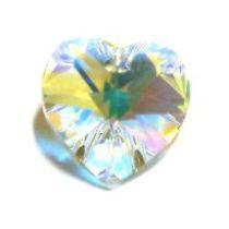 Swarovski Pendants Heart - 14mm Crystal AB