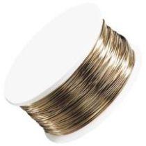 Artistic Wire Brass/Gold Non Tarnish - 26gauge(45 ft.spool)