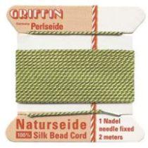 Griffin Natural Silk Bead Cord-Jade (No. 7 )