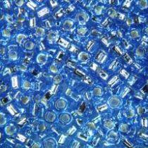 SEED BEAD 11/0 JAPANESE MEDIUM BLUE SL/SH(73)