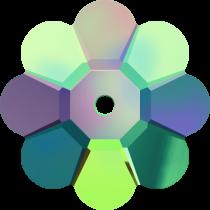 Swarovski Margarita Flower(3700)  Beads -8mm-Vitrail Medium