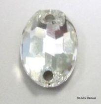 Swarovski 3210 Oval Stone 24x 17 mm -Crystal (Folied)