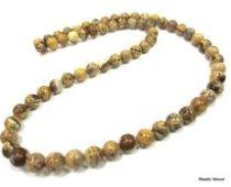 Picture Jasper Beads Round -4mm