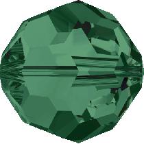 Swarovski 5000 Round Bead-6mm-Emerald -360 Beads