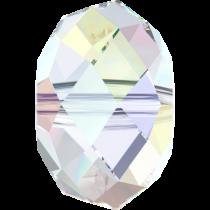 Swarovski Crystal Rondel Beads -6mm Crystal AB