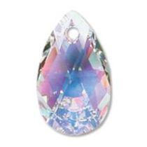 Swarovski Crystal Pear Pendant 6106-28mm-Crystal AB