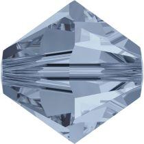 Swarovski  Bicone 5328-6mm-Crystal Denim Blue