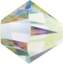Swarovski Crystal Bicone 5328-6mm-Crystal AB 2X