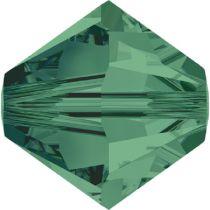 Swarovski  Bicone 5328-2.5 mm - Emerald -1440 Pcs.