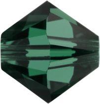 Swarovski  Bicone 5328-6mm-Emerald