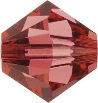 Swarovski Crystal Bicone 5328-6mm-Padpardsch